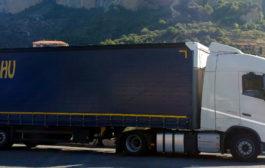A kamionos áruszállításról