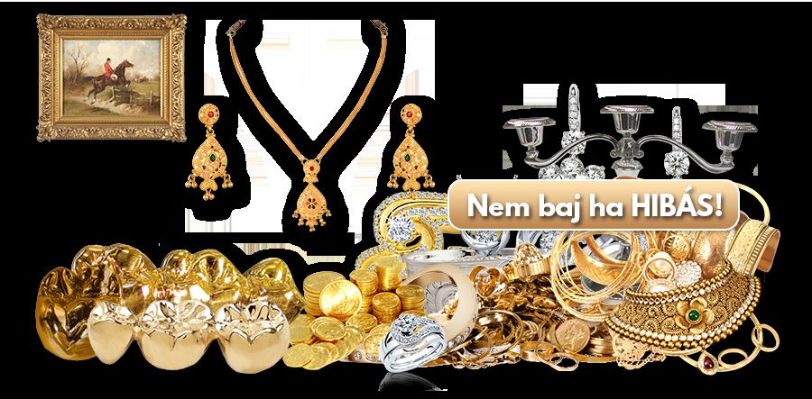 Diszkrét és biztonságos arany felvásárlás tapasztalt becsükkel