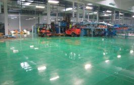 Műgyanta padlók az iparban