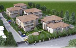 Új építésű lakópark a Balatonon